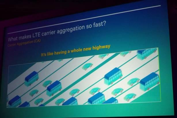 Computex 2015 :高通直接與競品做技術與效能對比,強調整體效能仍遠領先對手