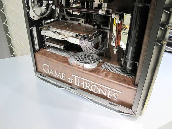 "Computex 2015:Cooler Master ""Game Of Thrones 權力遊戲"" 主機殼"