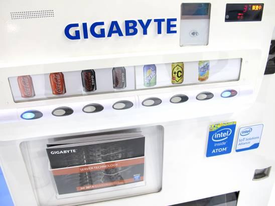 Computex 2015:每一張展覽的通行證,都可以到技嘉攤位免費買一瓶飲料ヾ(*´∀`*)ノ