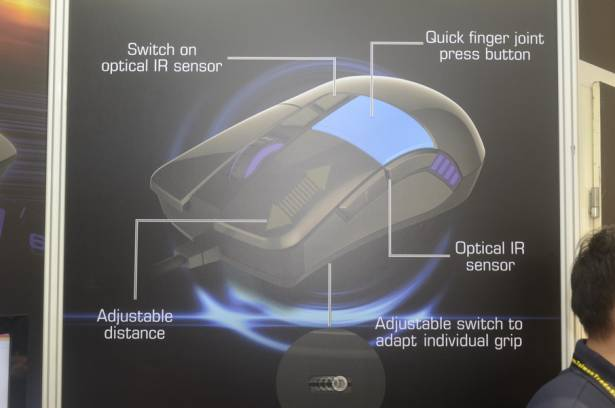 Computex 2015:除了軸之外,ADOMAX的滑鼠也很有看頭