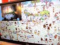 Computex 2015:BenQ 4K 84吋大螢幕動手玩
