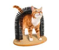 PurrfectARCH 拱門型貓咪蹭毛器,貓咪表示:呼嚕嚕嚕嚕