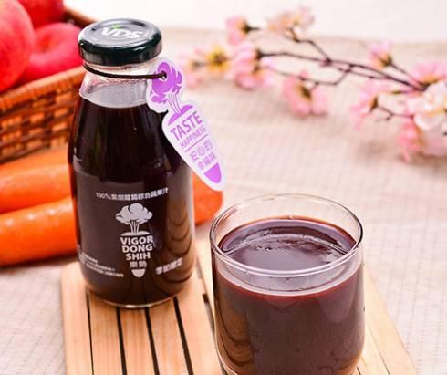 得福東勢果菜生產合作社,100%紫胡蘿蔔綜合蔬果汁
