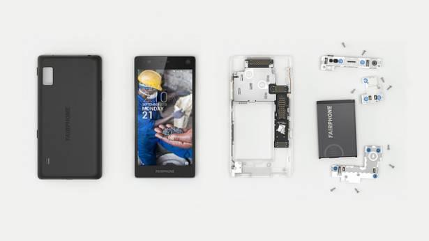 以公平交易為號召、標榜可加購易毀損元件的 Fairphone