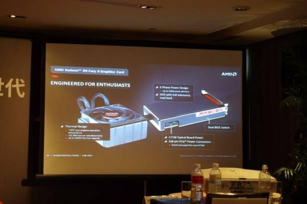 AMD 針對 R9 Fury X 技術、設計理念進行解說,強調 4GB HBM 足以應付 4K 遊戲
