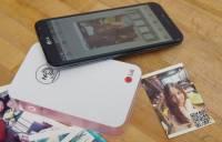 讓回憶不光只是影像還可承載更多弦外之音, LG Pocket Photo 2.0 動手玩