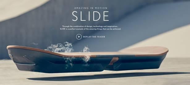 Lexus 放出預告,宣示將展現懸浮滑板技術
