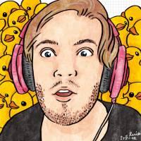 """今日新聞淺談:你一定多少有看過他的影片,史上最紅的 Youtuber """"PewDiePie"""""""