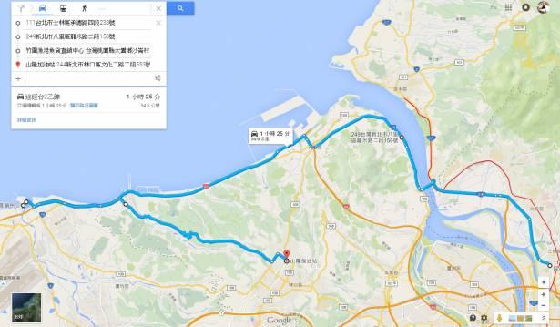 在台北再次與 Gogoro 相見,由台北到桃園竹圍漁港的半日遊