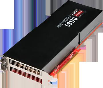針對專業級運算伺服器, AMD 發表具 32GB RAM 之 FirePro S9170 GPU