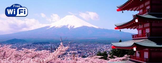 在富士山上網也OK!日本KDDI提供公用Wi-Fi網路服務