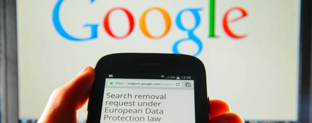 Google已收到了超過百萬件來自於行使「被遺忘權」的刪除請求