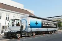 寶馬集團使用電動大卡車當物流車