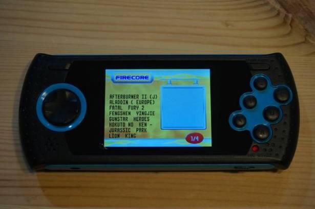 經典SEGA究極80合1攜帶遊戲機開箱測試報告