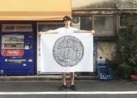 日本的下水道人孔蓋太美但又不能收藏...,那就拓印下來吧!