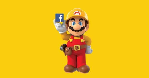 任天堂 x Facebook =「超級瑪利歐製作大師」創造力駭客松大競賽!