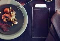 IKEA的餐墊叫你吃飯不要看手機