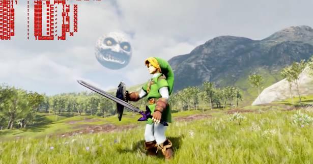 奔馳於大草原上的林克和火蜥蜴!Unreal Engine 4遊戲引擎讓人們視覺感受驚艷!