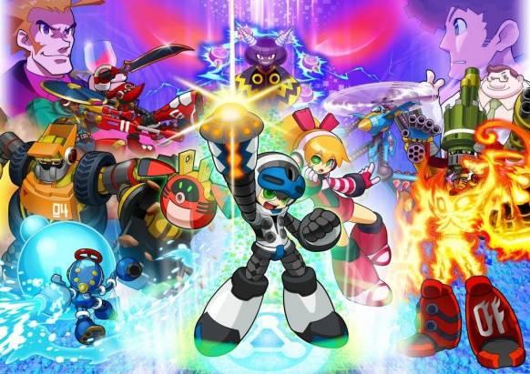 SCE 宣布洛克人之父稻船敬二作品 Mighty No.9 將於 PS4 、 PS3 與 PS Vita 推出繁體中文版