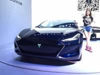 這不是 Tesla Models 嗎?做的還挺像的之上海遊俠 X 號稱最快 2017 年上市
