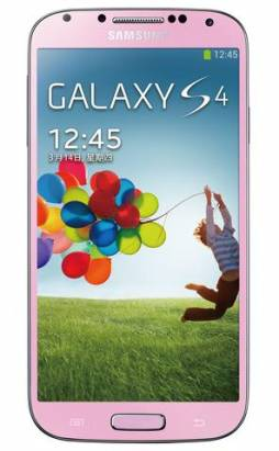 三星 Galaxy S4 推出粉、紫兩款新色,希望打動女性消費族群