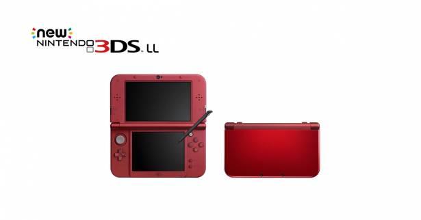 紅得出類拔萃!任天堂New 3DS LL新顏色「金屬紅」將於8月27日發售