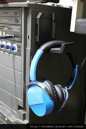 ENERMAX HEADSET HOLDER EHB001 好便宜 超實用 最佳空間利用的耳機置放架