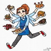 今日新聞淺談:Cooking Dash 美女餐廳 APP 手機遊戲全關卡破關五星心得