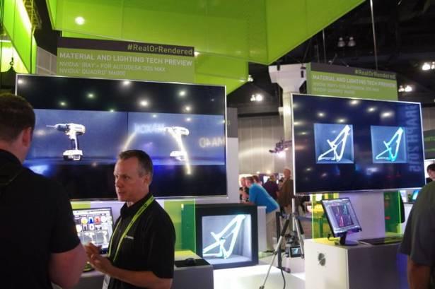 NVIDIA 於 SIGGRAPH 展示即時渲染在工業設計的優勢