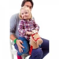 增加親子互動的膝蓋馬頭