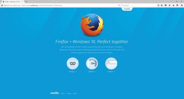 Firefox for Windows 10 可供下載更新 附加元件更安全