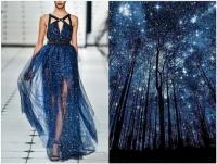 星星河水夕陽放身上,時尚與大自然的奇妙巧合