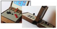 復古風吹向掌機與對戰機台~瑞典設計師Love Hulten復古電玩新作品出爐