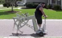 怪獸級的賽格威電鑽步行機械