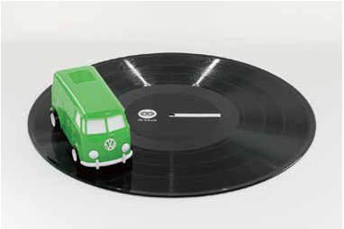 奔馳於黑膠唱片上的可愛小汽車~stokyo重新包裝35週年的soundwagon