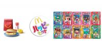 日本麥當勞與妖怪手錶合作,推出限定版本妖怪卡片的兒童餐