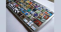 將你的鍵盤打造成海拉爾世界的風格!《薩爾達傳說》圖案的鍵盤印花貼紙上架囉~