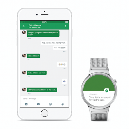 iPhone 用戶也可搭配往後的 Android Wear 了, Google 釋出 iOS 版 Android Wear app