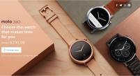 Motorola 360 第二代登場,維持圓形錶面並提供 42mm 46mm 雙尺吋