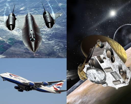 太空船有多快?一圖體驗NASA新視野號的飛行速度