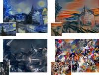 技術成分高於藝術天份的神經網路繪畫