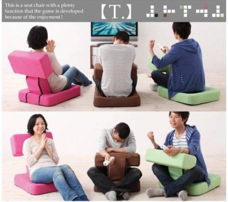 日本製!為遊戲而生的「Game 迷椅子」