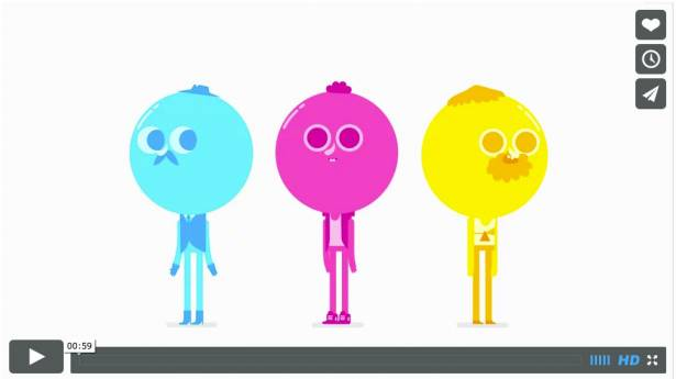 CMYK 加在一起會變什麼色?可愛短片看完秒學會