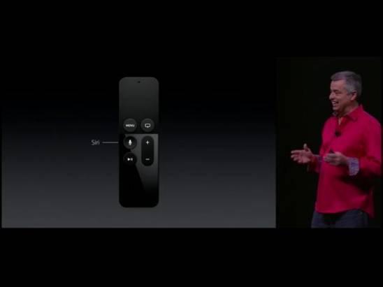 第四代新Apple TV將於10下旬上市,採用tvOS並新增Siri和體感Remote Controller功能
