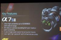 進化的高 ISO 怪獸,搭載 5 軸防手振的 Sony A7S II 正在進行發表
