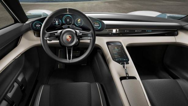 Tesla Model S 實質意義上的對手車線,保時捷發表純電奢華概念房車 Mission E
