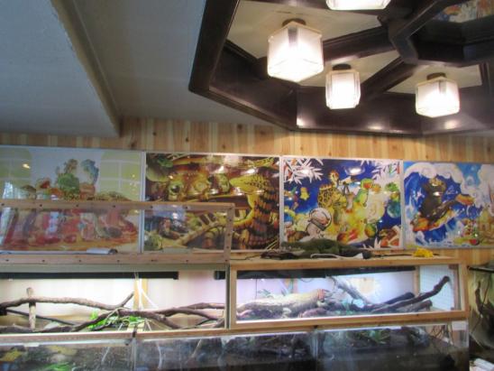 冷血動物控必去!日本橫濱爬行動物咖啡廳