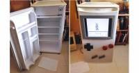 親愛的,你看,我真的把冰箱變成Gameboy了!