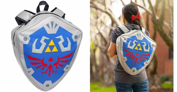 出發吧勇者!帶著《薩爾達傳說》的林克盾牌背包前往海拉爾王國吧!