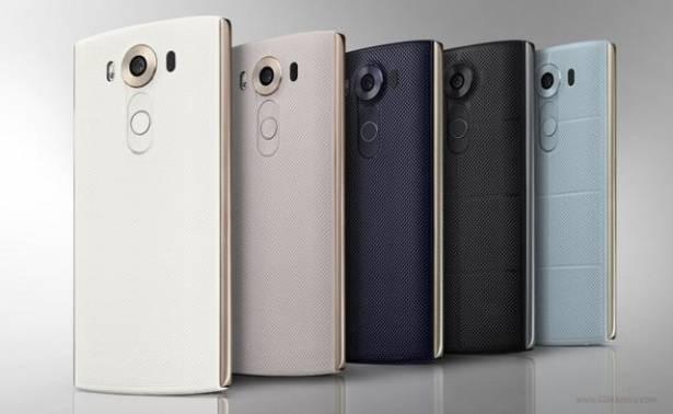 前雙螢幕、共三鏡頭, LG 發表新旗艦機 V10